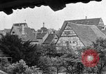 Image of famous buildings Rothenburg on the Tauber Germany, 1937, second 56 stock footage video 65675055449
