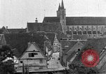 Image of famous buildings Rothenburg on the Tauber Germany, 1937, second 58 stock footage video 65675055449