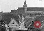 Image of famous buildings Rothenburg on the Tauber Germany, 1937, second 60 stock footage video 65675055449