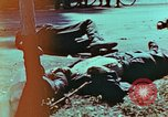 Image of German soldiers killed by Czechs, in Pilsen Czechoslovakia, a month be Pilsen Czechoslovakia, 1945, second 16 stock footage video 65675055606