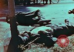 Image of German soldiers killed by Czechs, in Pilsen Czechoslovakia, a month be Pilsen Czechoslovakia, 1945, second 20 stock footage video 65675055606