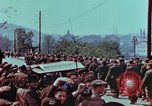 Image of German troops marching to surrender to Western Allies Pilsen Czechoslovakia, 1945, second 34 stock footage video 65675055608