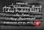 Image of displaced persons camps with World War 2 refugees Europe, 1945, second 38 stock footage video 65675056099