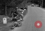 Image of displaced persons camps with World War 2 refugees Europe, 1945, second 60 stock footage video 65675056099