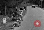 Image of displaced persons camps with World War 2 refugees Europe, 1945, second 61 stock footage video 65675056099