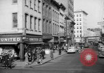 Image of Main streets of various American towns in 1945 United States USA, 1945, second 39 stock footage video 65675056101