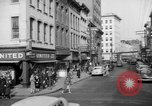 Image of Main streets of various American towns in 1945 United States USA, 1945, second 40 stock footage video 65675056101