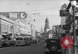 Image of Main streets of various American towns in 1945 United States USA, 1945, second 62 stock footage video 65675056101