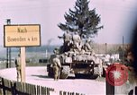 Image of US 3rd Armored Division Lenglern Germany, 1945, second 2 stock footage video 65675056463