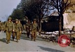 Image of US 3rd Armored Division Lenglern Germany, 1945, second 39 stock footage video 65675056463