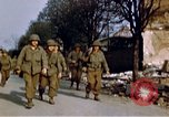 Image of US 3rd Armored Division Lenglern Germany, 1945, second 40 stock footage video 65675056463