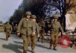Image of US 3rd Armored Division Lenglern Germany, 1945, second 41 stock footage video 65675056463