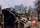 Image of US 3rd Armored Division Lenglern Germany, 1945, second 57 stock footage video 65675056463