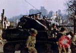 Image of US 3rd Armored Division Lenglern Germany, 1945, second 58 stock footage video 65675056463