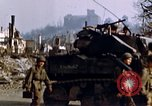 Image of US 3rd Armored Division Lenglern Germany, 1945, second 59 stock footage video 65675056463