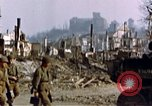 Image of US 3rd Armored Division Lenglern Germany, 1945, second 61 stock footage video 65675056463