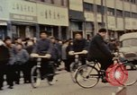 Image of Busy roads in Beijing Beijing China, 1972, second 21 stock footage video 65675057352
