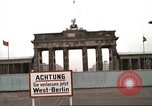Image of Berlin Wall views from West Germany Berlin West Germany, 1980, second 22 stock footage video 65675058827