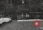 Image of United States and Russian officers Protivin Czechoslovakia, 1945, second 3 stock footage video 65675060046