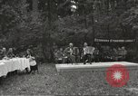 Image of United States and Russian officers Protivin Czechoslovakia, 1945, second 4 stock footage video 65675060046
