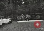 Image of United States and Russian officers Protivin Czechoslovakia, 1945, second 5 stock footage video 65675060046