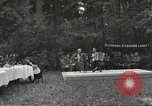 Image of United States and Russian officers Protivin Czechoslovakia, 1945, second 7 stock footage video 65675060046