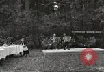 Image of United States and Russian officers Protivin Czechoslovakia, 1945, second 8 stock footage video 65675060046