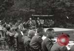 Image of United States and Russian officers Protivin Czechoslovakia, 1945, second 16 stock footage video 65675060046