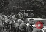 Image of United States and Russian officers Protivin Czechoslovakia, 1945, second 17 stock footage video 65675060046