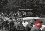 Image of United States and Russian officers Protivin Czechoslovakia, 1945, second 21 stock footage video 65675060046
