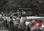 Image of United States and Russian officers Protivin Czechoslovakia, 1945, second 22 stock footage video 65675060046