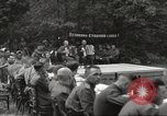 Image of United States and Russian officers Protivin Czechoslovakia, 1945, second 23 stock footage video 65675060046