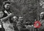 Image of United States and Russian officers Protivin Czechoslovakia, 1945, second 25 stock footage video 65675060046