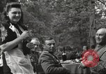 Image of United States and Russian officers Protivin Czechoslovakia, 1945, second 26 stock footage video 65675060046