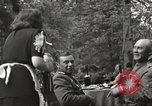 Image of United States and Russian officers Protivin Czechoslovakia, 1945, second 28 stock footage video 65675060046