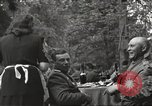 Image of United States and Russian officers Protivin Czechoslovakia, 1945, second 29 stock footage video 65675060046
