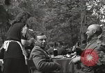 Image of United States and Russian officers Protivin Czechoslovakia, 1945, second 30 stock footage video 65675060046