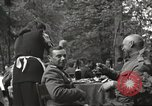 Image of United States and Russian officers Protivin Czechoslovakia, 1945, second 31 stock footage video 65675060046