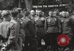 Image of United States and Russian officers Protivin Czechoslovakia, 1945, second 34 stock footage video 65675060046