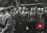 Image of United States and Russian officers Protivin Czechoslovakia, 1945, second 35 stock footage video 65675060046