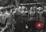 Image of United States and Russian officers Protivin Czechoslovakia, 1945, second 37 stock footage video 65675060046