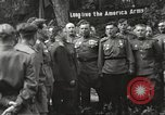 Image of United States and Russian officers Protivin Czechoslovakia, 1945, second 38 stock footage video 65675060046