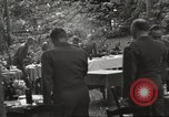 Image of United States and Russian officers Protivin Czechoslovakia, 1945, second 44 stock footage video 65675060046