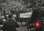 Image of United States and Russian officers Protivin Czechoslovakia, 1945, second 46 stock footage video 65675060046