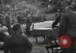 Image of United States and Russian officers Protivin Czechoslovakia, 1945, second 47 stock footage video 65675060046