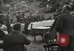 Image of United States and Russian officers Protivin Czechoslovakia, 1945, second 48 stock footage video 65675060046