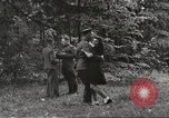 Image of United States and Russian officers Protivin Czechoslovakia, 1945, second 49 stock footage video 65675060046