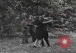Image of United States and Russian officers Protivin Czechoslovakia, 1945, second 50 stock footage video 65675060046