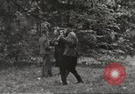 Image of United States and Russian officers Protivin Czechoslovakia, 1945, second 51 stock footage video 65675060046