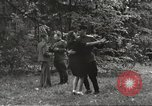 Image of United States and Russian officers Protivin Czechoslovakia, 1945, second 52 stock footage video 65675060046